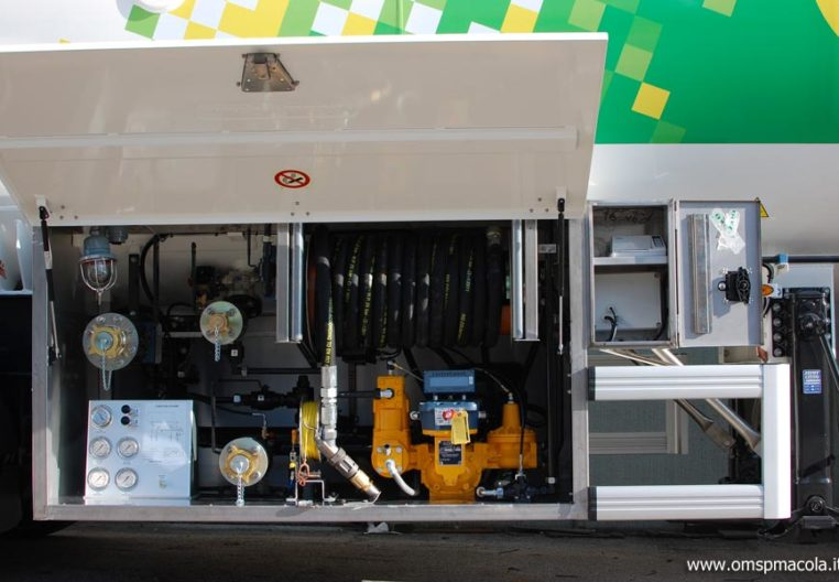 OMSP MACOLA ST43UA - 43.000litres - installation de distribution