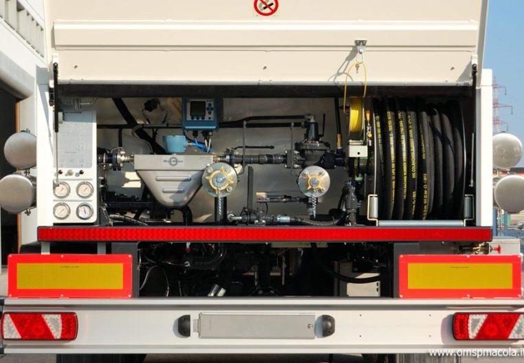 OMSP MACOLA ST48CS - 48.000 litri - impianto di distribuzione