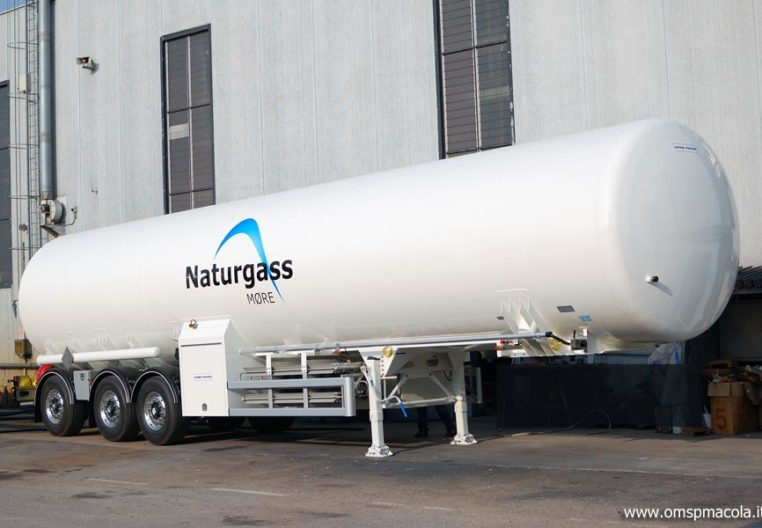 ARITAS ATRAVEL58LNG - 57.500 litri - semirimorchio cisterna