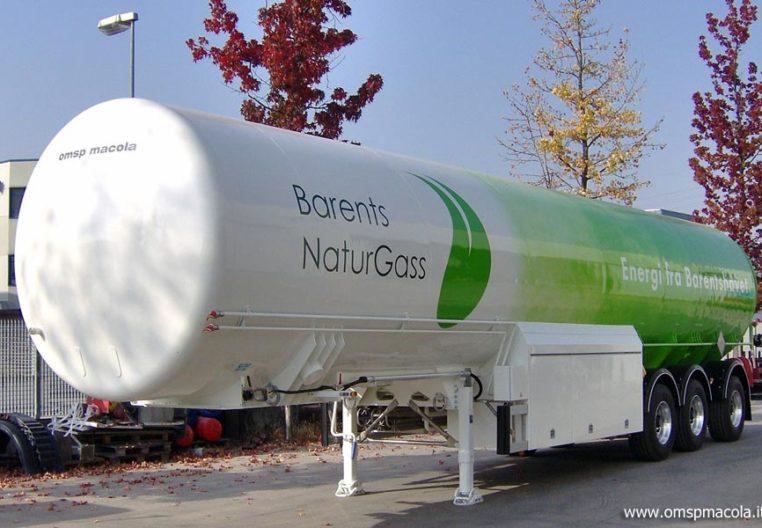 ARITAS ATRAVEL58LNG - 57.500 litres - citerne semi-remorque pour le transport et la distribution
