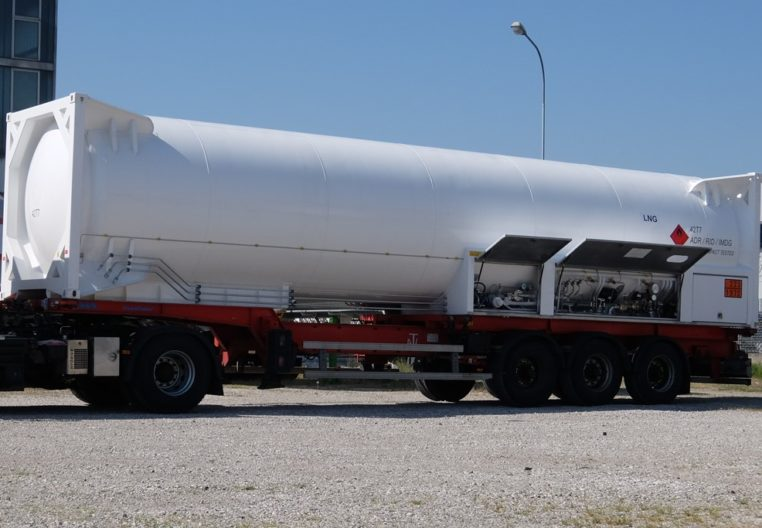 ARITAS ARTRAINER-IC-40-SI44-LNG 43.800liters - tank container for transport and distribution
