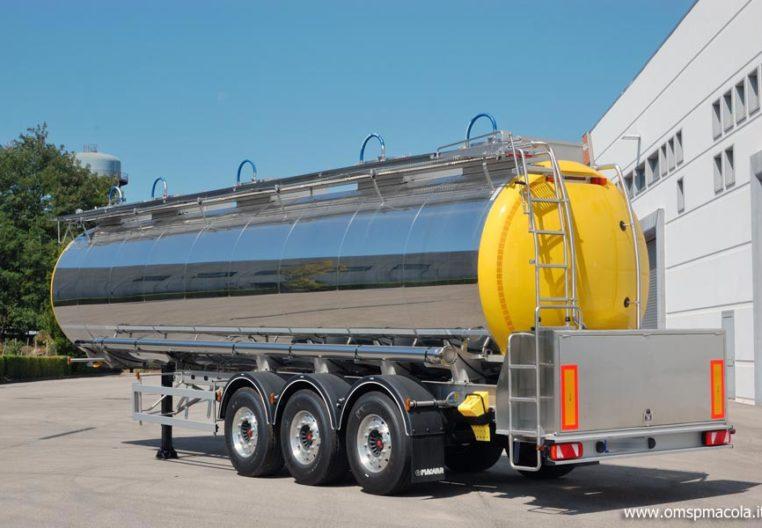 G.MAGYAR SR34A - 34.000 litri semirimorchio cisterna per trasporto prodotti alimentari