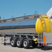 G.MAGYAR SR34A - 34.000 litri - semirimorchio cisterna per trasporto prodotti alimentari