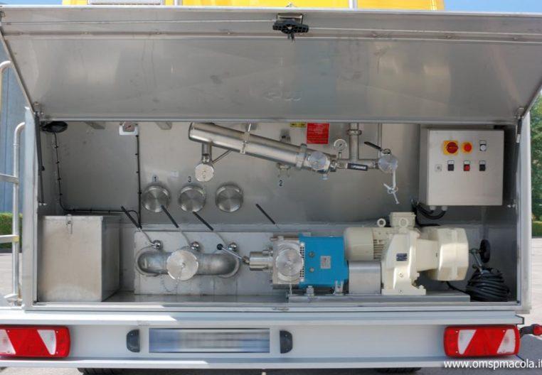 G.MAGYAR SR34A - 34.000 litri -  impianto di distribuzione
