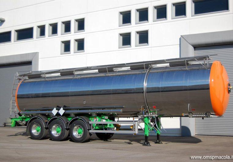 G.MAGYAR SR37J - 37.500 litri - semirimorchio cisterna per trasporto prodotti chimici