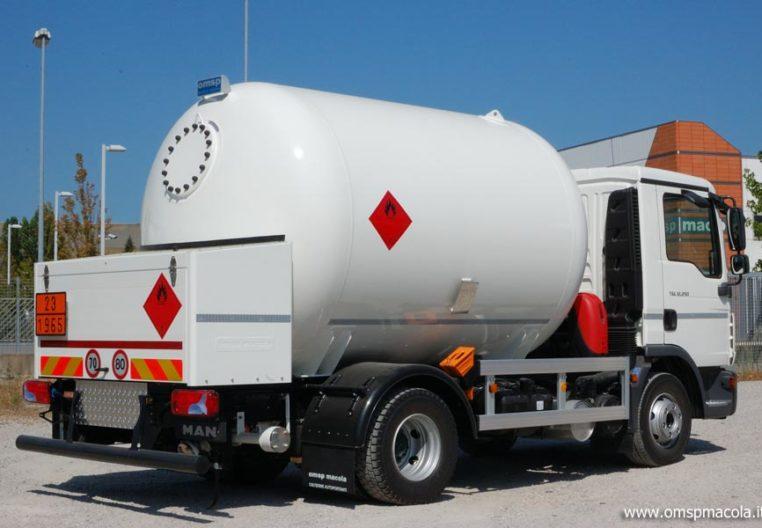 MAN TGL 12.250 - 11.000 litri - autocisterna per trasporto