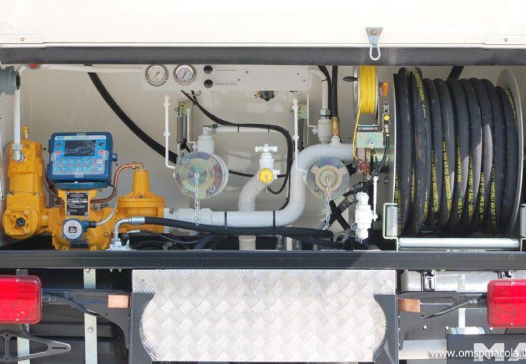 MAN TGL 12.250 - 11.000 litri -  impianto di distribuzione