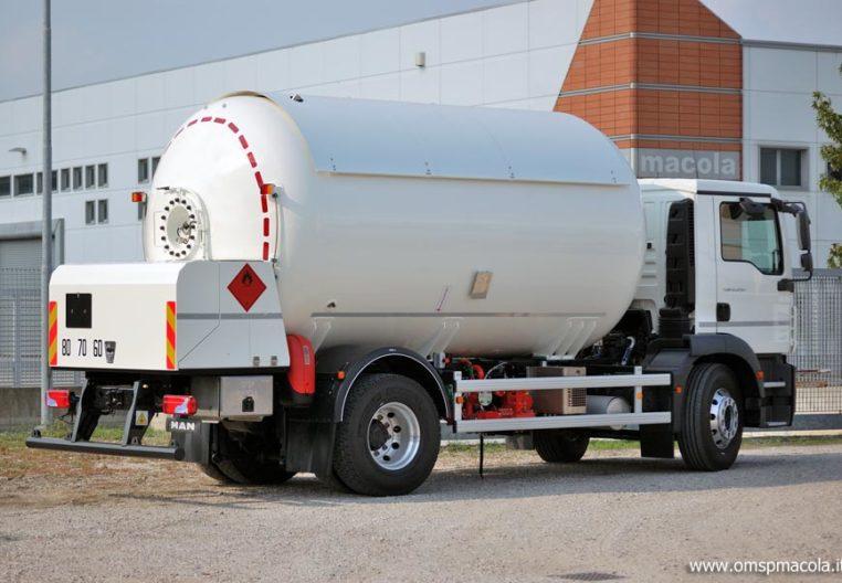 MAN TGM 18.250 - 20.000 litri - autocisterna per trasporto