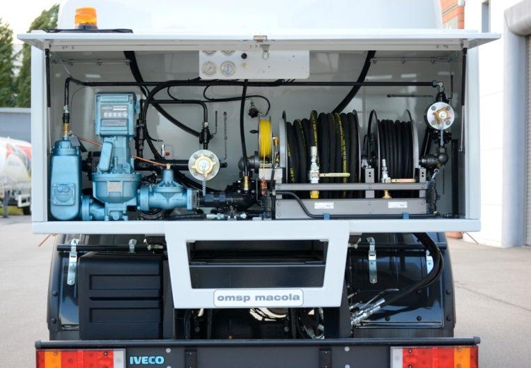 IVECO ML170E24H - 17.000 litri -  impianto di scarico