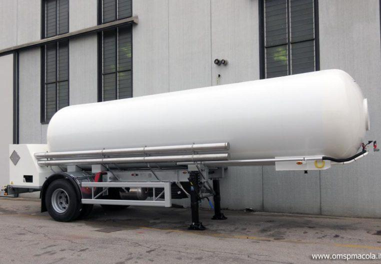 OMSP MACOLA MC16F - 16.000 litres - semi-remorque citerne