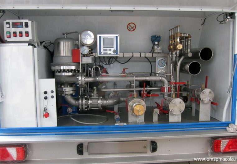 OMSP MACOLA MC16F - 16.000 liters - distribution plant