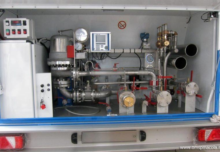 OMSP MACOLA MC16F - 16.000 litri - impianto di distribuzione