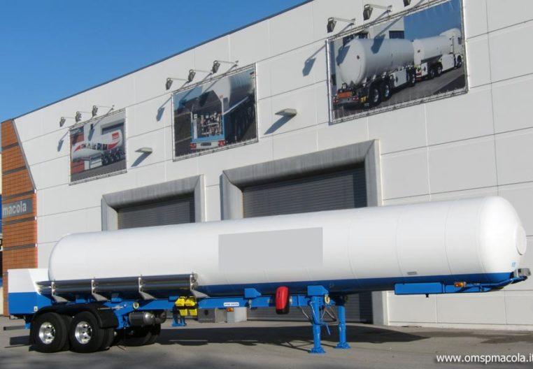 OMSP MACOLA SC25MEX - 26.000 litri - semirimorchio cisterna per trasporto