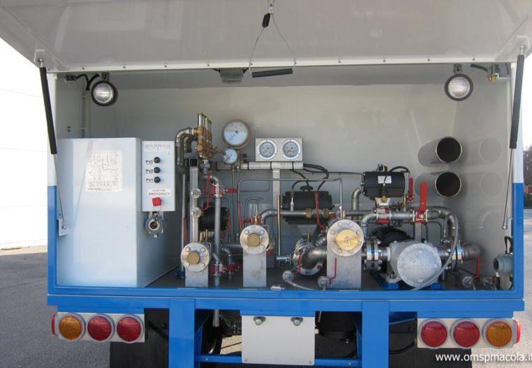 OMSP MACOLA SC25MEX - 26.000 litri - impianto di distribuzione