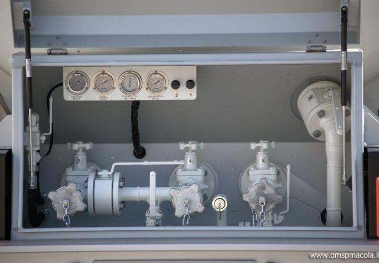OMSP MACOLA ST43UA - 43.000 litres - installation de distribution