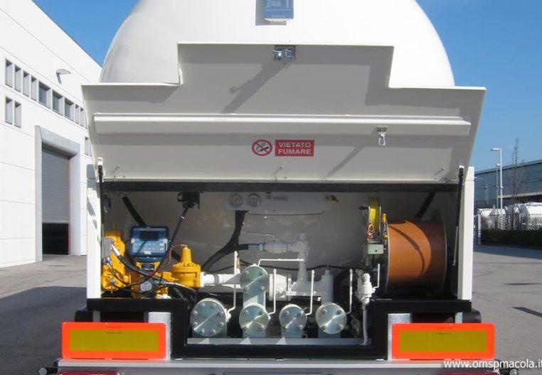 OMSP MACOLA ST525RE2 - 52.500 litres - système d'échappement