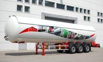 OMSP MACOLA ST56RED2 - 56.000liters - semitrailer tanker