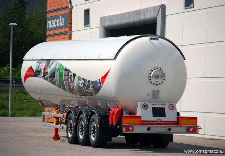 OMSP MACOLA ST56RED2 - 56.000 litri - semirimorchio cisterna