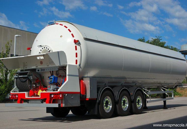 OMSP MACOLA ST57F - 57.000 litri - impianto di distribuzione