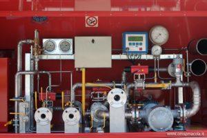 impianto di misurazione per anidride carbonica liquefatta (LCO2)