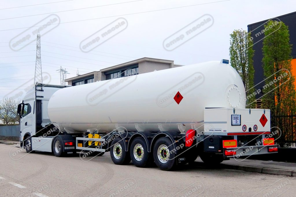 Semirimorchio-cisterna GPL
